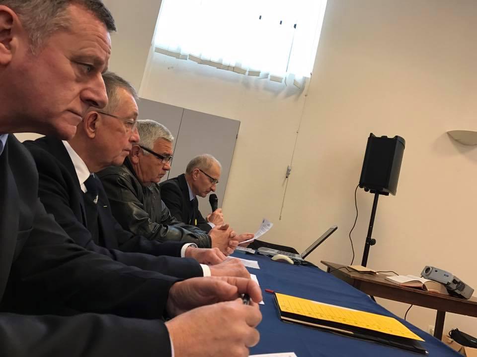 Arnaud Charpentier Assemblée générale des Retraités de la gendarmerie